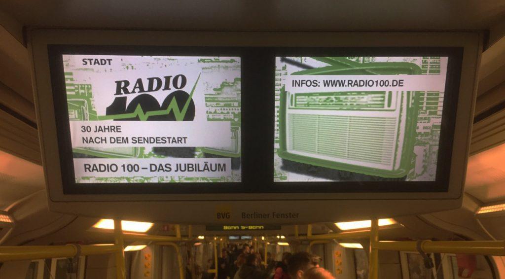 Radio 100 Festival im Berliner Fenster